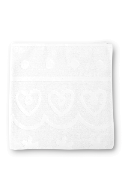 bilou shower towel white